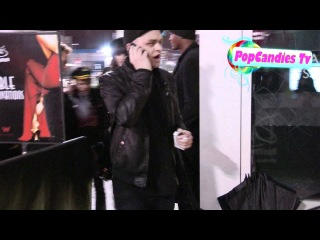 Avril Lavigne & Deryck Whibley with Ariana Cooper arrive at Drai's in Hollywood!