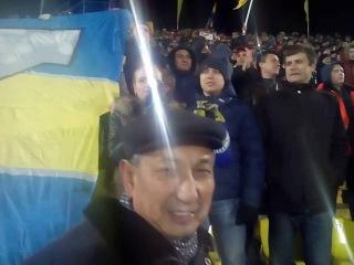 Himno de Champions League en inicio de partido entre Rostov - Atletico