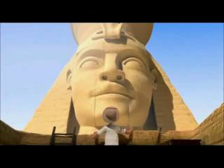 Египетская пирамида и пульт   забавный мультик короткометражка