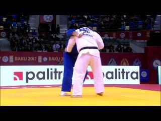 GS Baku 2017, +100 kg, fight for the bronze, Duurenbayar Ulziibayar(MGL)-Stanislav Bondarenko(UKR)