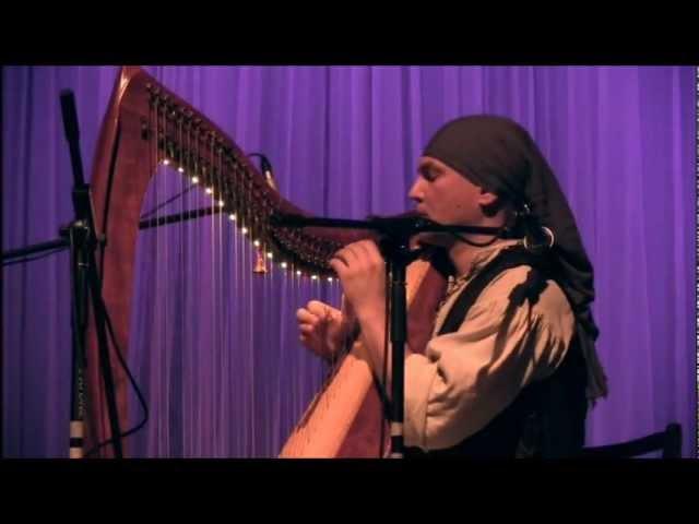 Alizbar Celtic harp Ballad that wind whispered Баллада о том что нашептал ветер.