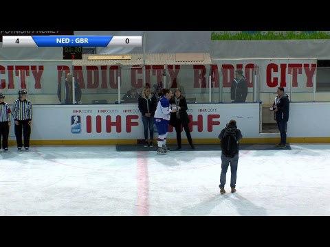 IIHF Women's WC Slovenia NED GBR