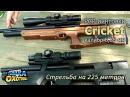 Пневматика Cricket и стрельба на 225 метров ТВ программа