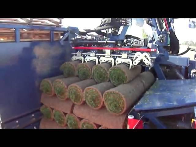 Brouwer RoboMax kombajn na trvnikov koberec