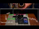 Zoom H1 vs Tascam DR-40 vs Tascam iM2 (feat. Spring Drum)