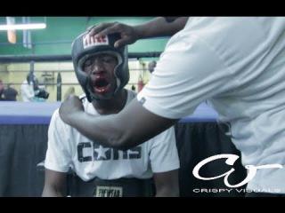 Отец заставил сына драться с профессиональным боксёром за хулиганство