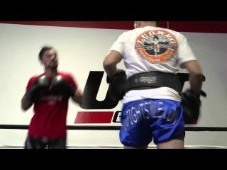 Лучшие моменты открытой тренировки перед UFC Fight Night 60: Хендерсон против Татча