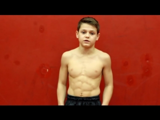 @workout motivation ripped kid _ amazing muscles _ iron chestmaster_high