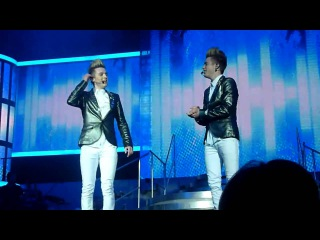 X Factor - Jedward - Under Pressure (Tour 2010, 20th March O2 Arena London)