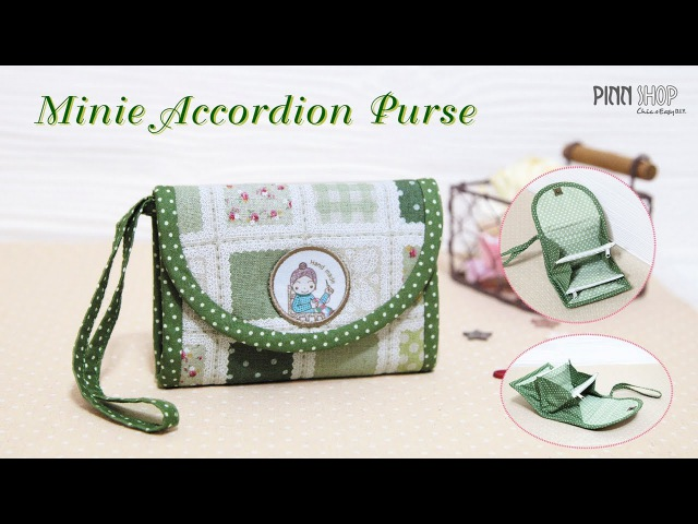 Minie Accordion Purse PINN SHOP