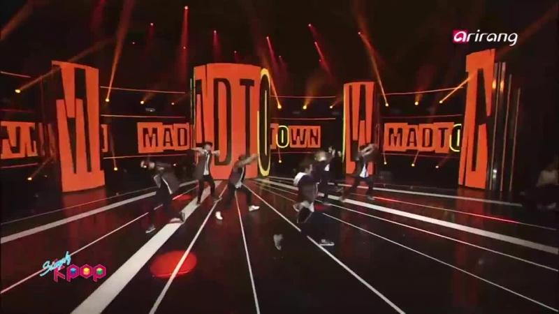 STAGE Simply K-Pop EP159-MADTOWN - New World 매드타운 - 드루와