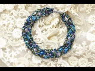 How to Make a Tubular Netting Stitch Bead Bracelet
