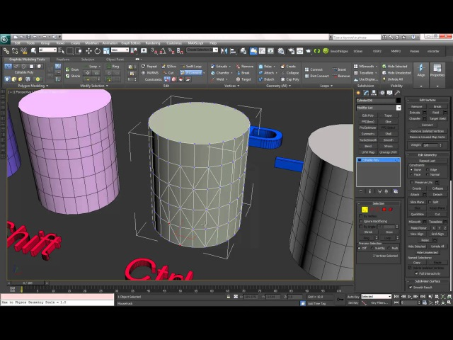 3Ds Max. P Connect Tool. Please Watch In HD