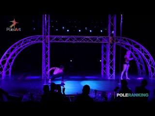 Anna de Carvalho & Saulo Sarmiento - Pole Art Cyprus 2014 (GALA)