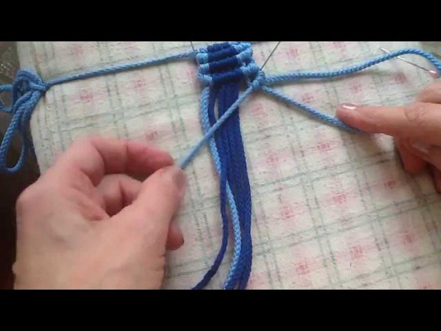 Обучающий курс макраме. Урок 8 Репсовые узлы