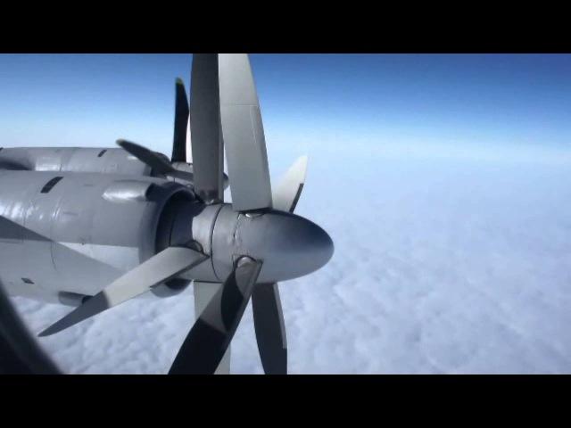 RARE Tupolev Tu 95MS Inflight HD