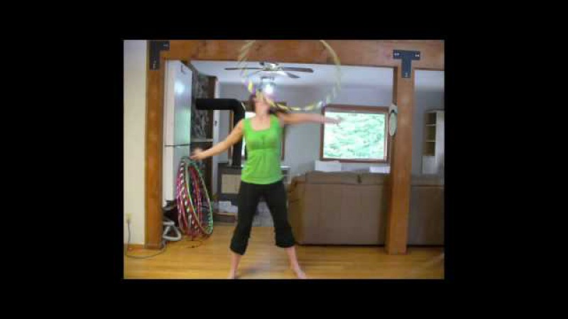 Chest roll with added neck spin hooping tutorial with babz