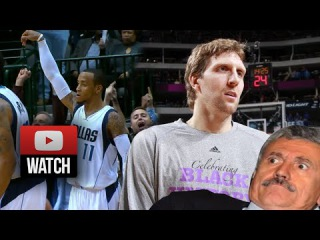 Monta Ellis & Dirk Nowitzki EPIC Highlights vs Trail Blazers () - 45 Pts, CLUTCH!