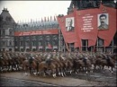 Парад Победы в цвете (реставрация) - 1945 г. [Victory Parade in Moscow, 1945]