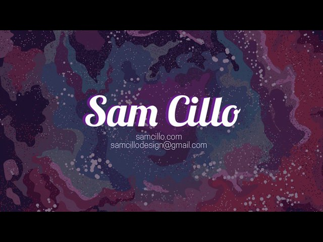 Sam Cillo Creative Reel