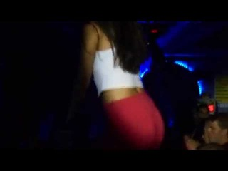 GORGEOUS ARABIC  GIRL FROM IRAN ON THE BAR PARADISO CLUB 26 JULY 2015 HERSONISSOS NIGHT LIFE