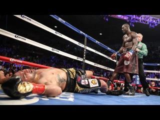 Дионтэй Уайлдер - Эрик Молина: нокаут! / Deontay Wilder Defends WBC Heavyweight Championship with Round 9 Knockout over Eric Molina