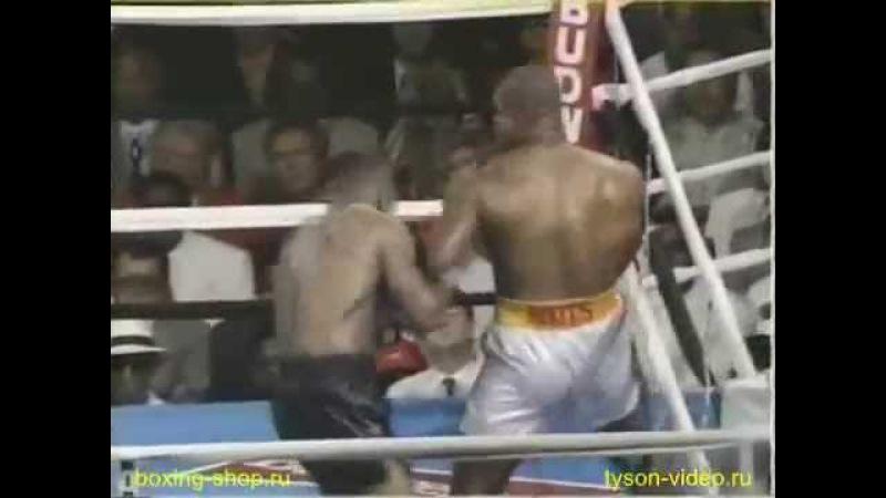 Майк Тайсон vs Донован Раддок (2 бой) vfqr nfqcjy vs ljyjdfy hflljr (2 ,jq)