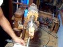 Woodturning rose engine