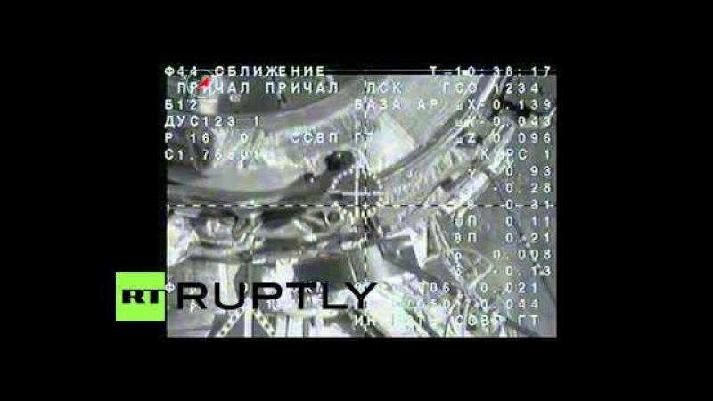МКС Союз ТМА-18М пристыковался МКС в экспедиции 44 подходит к концу.