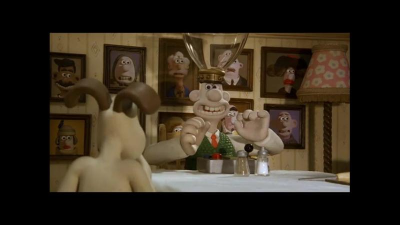 Уоллес и Громит Проклятие кролика оборотня Стив Бокс Ник Парк 2005