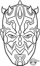 darth maul coloring pages - 750×1000