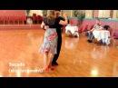 Argentine Tango Slow motion: Cross System with Sacadas, Gancho, Leg Wrap, Ochos 10/4/2015