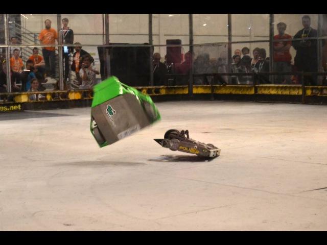 K Torze vs Spinner Bait Jr RoboGames 2015