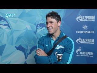 """Жулиано: «Надеюсь, что в """"Зените"""" меня ждет такой же успех, как и Халка»"""