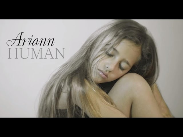 Christina Perri Human by 8 years old ARIANN cover