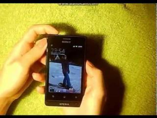 Как перезагрузить-мобильный телефон Sony Xperia ST27i Black+как перезагрузить sony