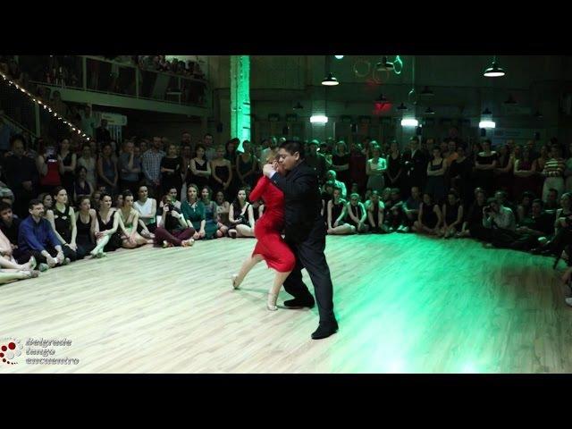 Carlitos Espinoza y Noelia Hurtado @ Belgrade Tango Encuentro 2016 25 El Elegante ( CHIQUE)