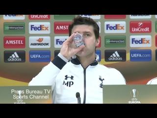 Маурисио Почеттино на пресс-конференции перед матчем с «Фиорентиной»