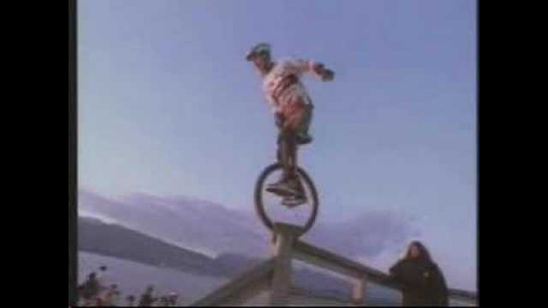 Kris Holm Extreme Unicyclist