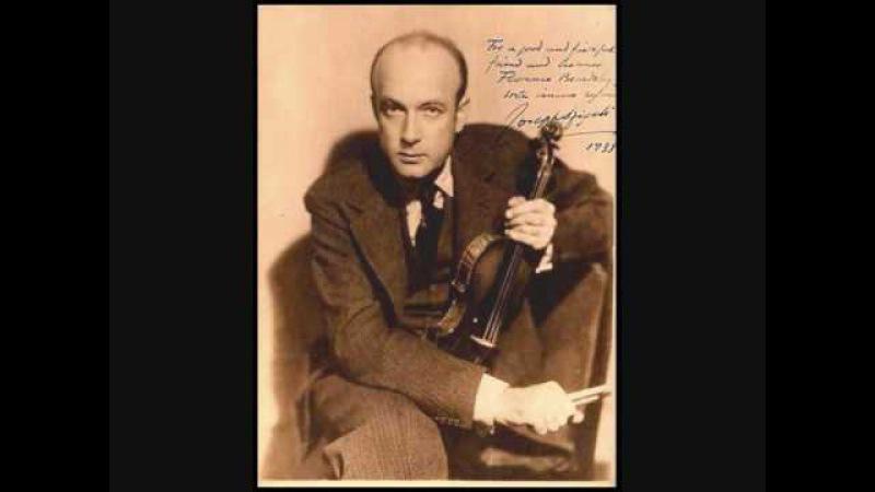 Josef Szigeti Béla Bartok Rhapsody n°1