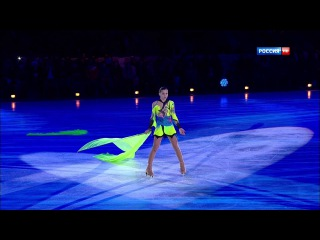 Аделина Сотникова. Гала-концерт Олимпийских чемпионов. Москва 2014