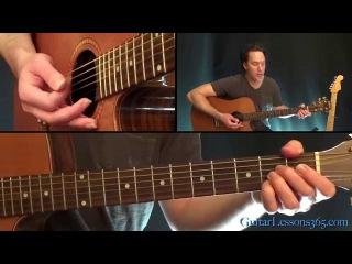 Paranoid Android Guitar Lesson Pt.2 - Radiohead