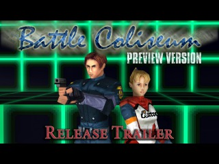 Resident Evil 2 Prototype (1.5) / Battle Coliseum trailer with release date