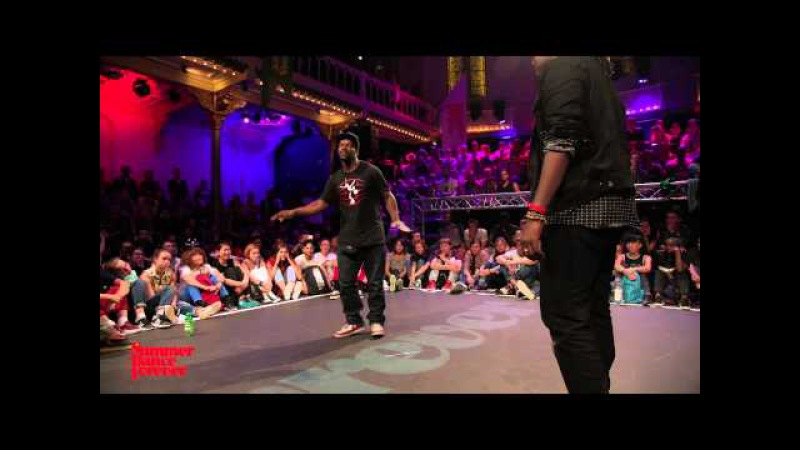 MonstaPop vs Blondy 1ST ROUND BATTLES Popping Forever - Summer Dance Forever 2015