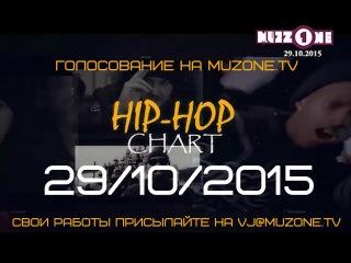 HIP-HOP CHART на MUZZONE, 29/10/2015 (+ сюжет о рэп-баттле)