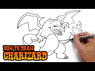 How to Draw Charizard- Pokemon