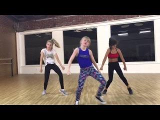 """On & On""   @JustineSkye   @Rumernoel Choreo feat. the ""Dance Moms"" girls & ALDC LA girls"