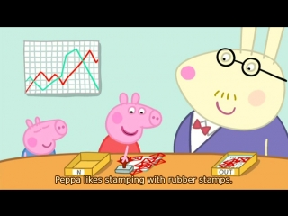 Peppa pig s02e22 daddy pigs office (eng subs)