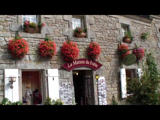 Локронан - еще одна...самая красивая деревня Франции. Южная Бретань