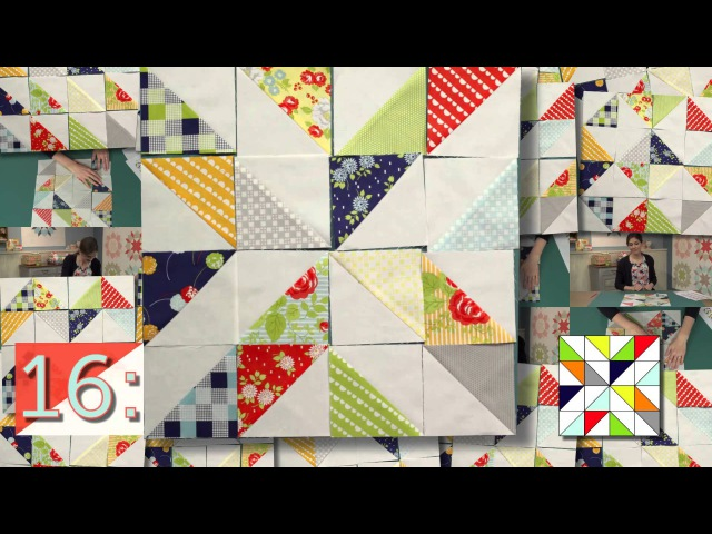25 Half Square Triangle Blocks with Camille Roskelley